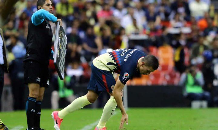 Mateus Uribe debutó con América en Copa MX
